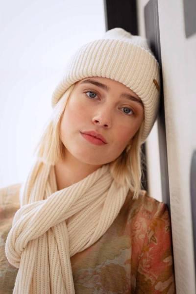 Karlini scarf cream one size Barts Amsterdam