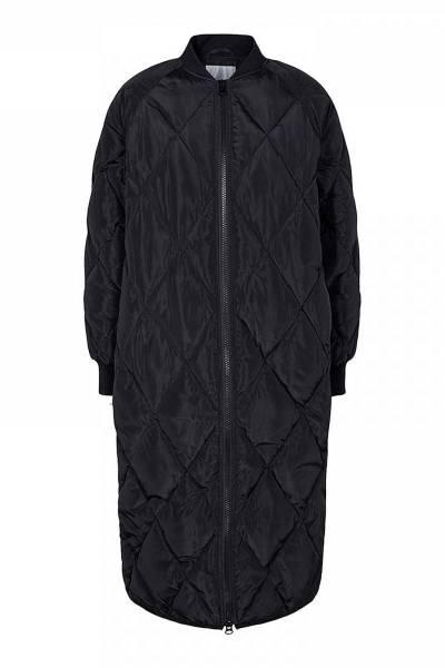 Amanda quilt coat black Co'Couture