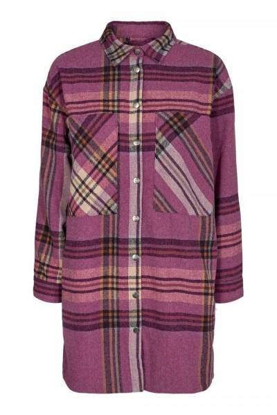 Keisi check shirt pink Co'Couture
