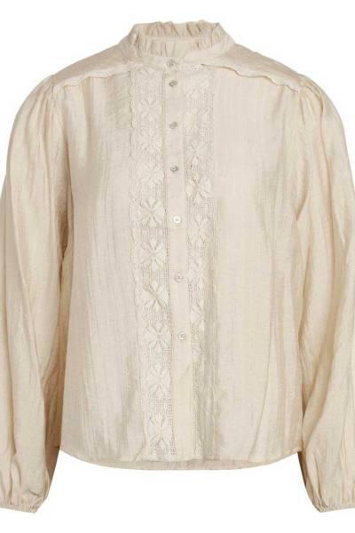 Lisissa lace shirt bone Co'Couture