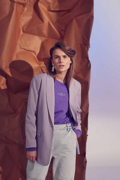 Prince blazer purple Co'Couture