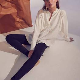 Calium volume shirt white Co'Couture