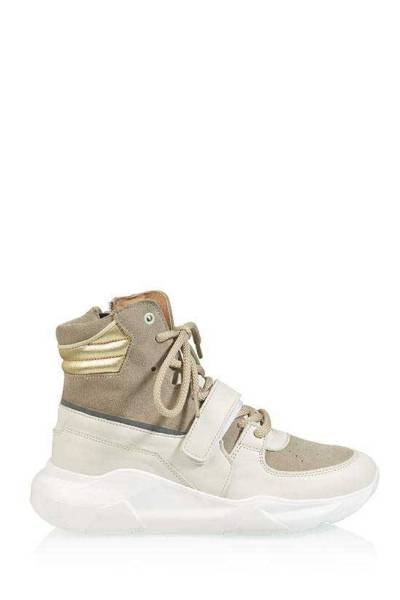 Bolton leather/suede white/beige DWRS label