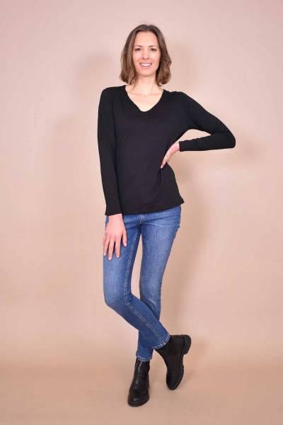 Caniel tee shirt noir La Fee Maraboutee