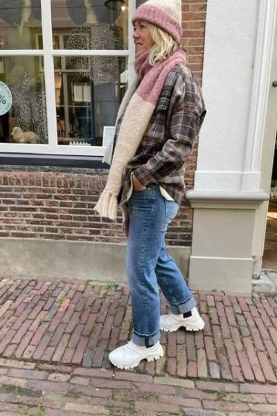 Duo medellin amaranto INTI knitwear