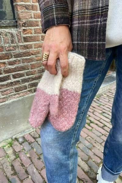 Duo huante amaranto INTI knitwear