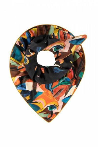 Double artist palette shawl Pom Amsterdam