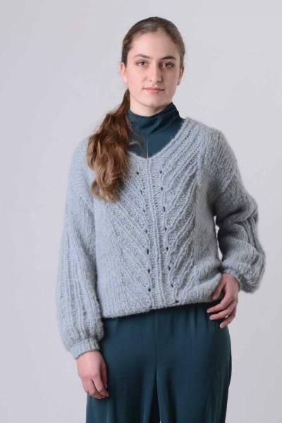 Analuz aqua INTI knitwear