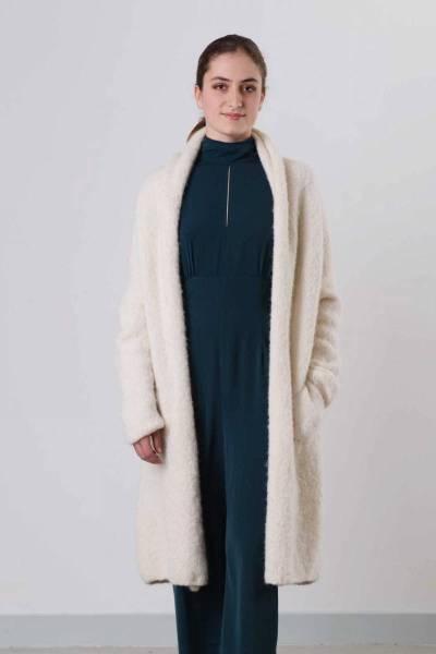 Abrazo ecru INTI knitwear