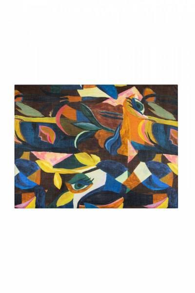 Artist palette shawl Pom Amsterdam