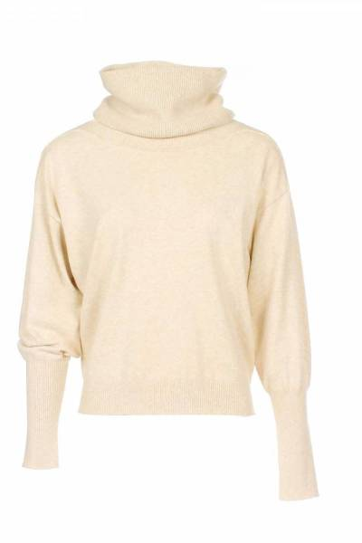 Suze sweater seperate col sand Aimee