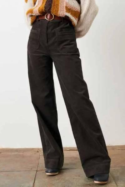 Johnny village pants ristretto Sessun