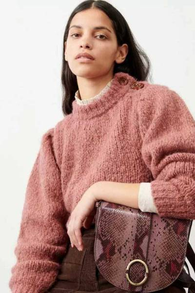 Nutty canyon rose knitwear Sessun