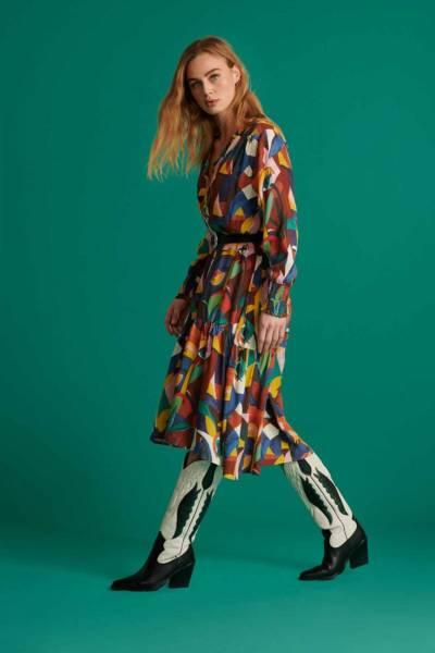 Olivia artist palette dress Pom Amsterdam