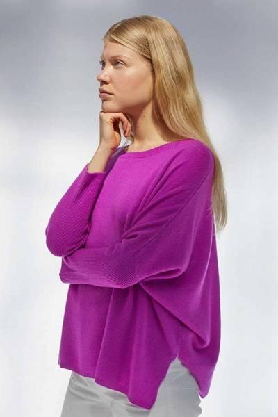 Astrid violet fluo Absolut Cashmere