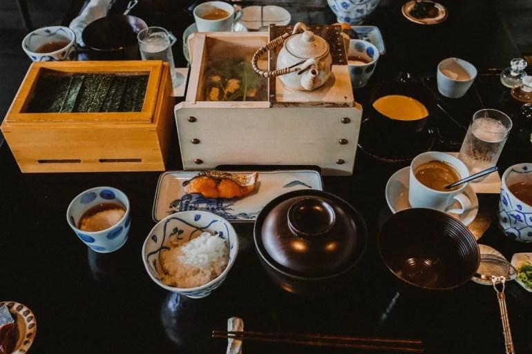 Breakfast at Beniya Mukayu