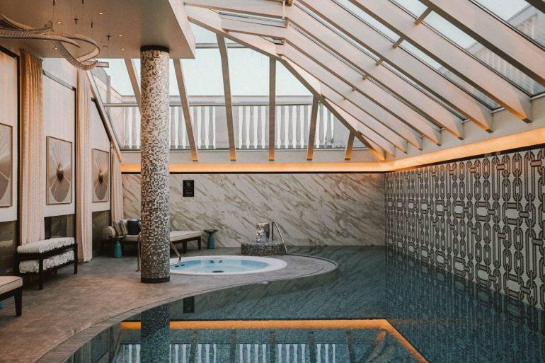 Pool at the Ritz-Carlton, Budapest