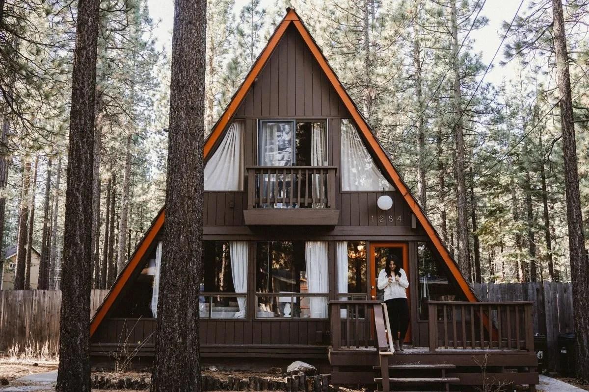 home cabin lake vrbo tahoe rental lakefront historic estate cabins