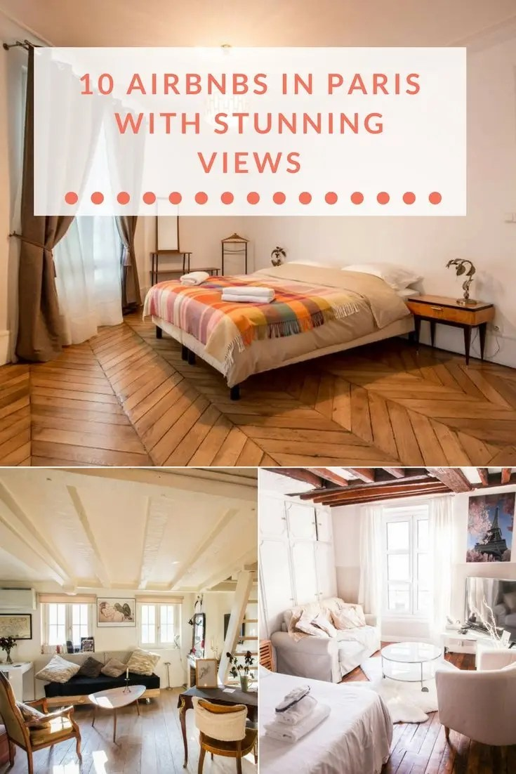 10 Airbnbs in Paris with Stunning Views