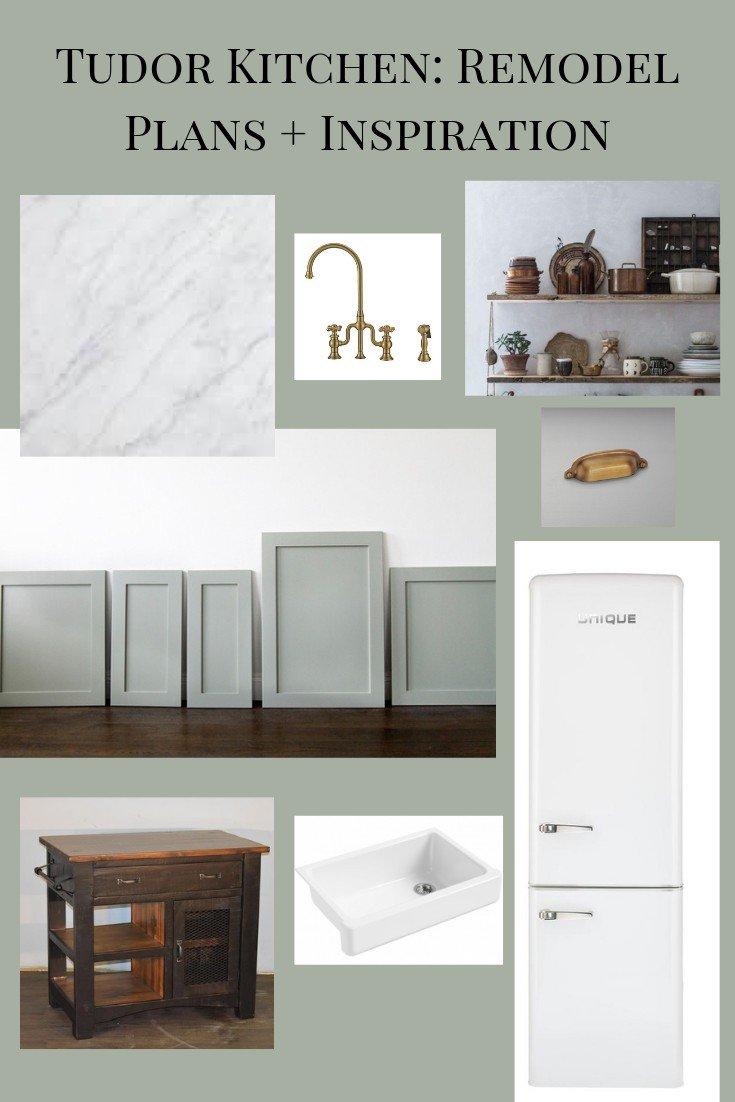 Our Tudor Kitchen: Remodel Plans + Inspiration