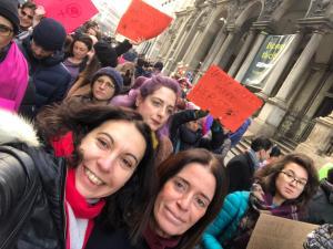 le foto della marcia a Milano il 20/01