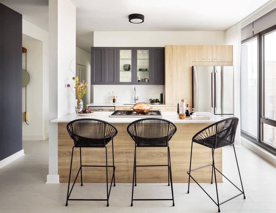 1035 W Van Buren Apartment Kitchen