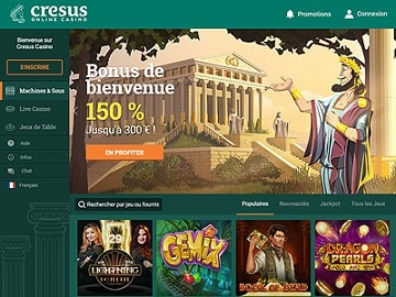 casino cresus avis bonus code vip