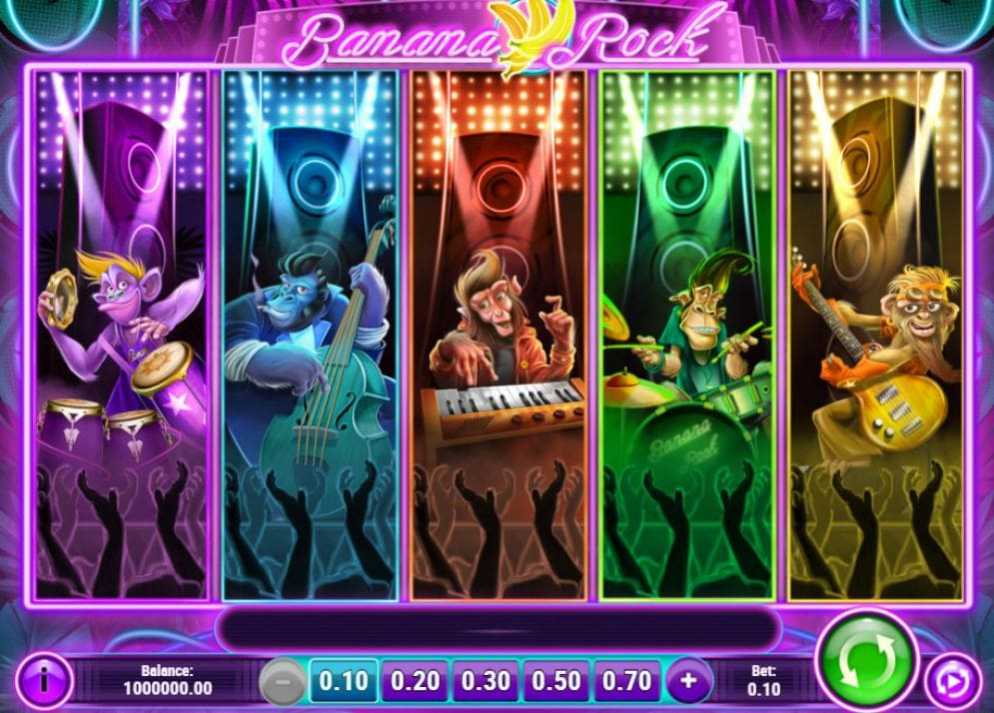 Banana Rock de Play'n GO dans les casinos de France-min