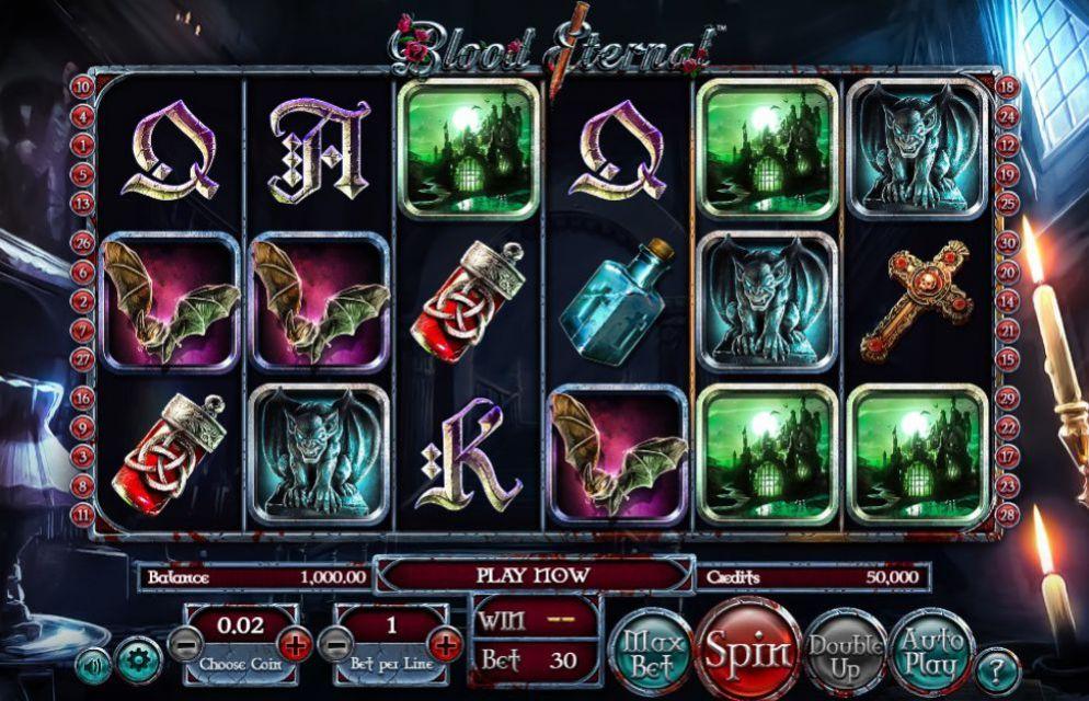 Blood Eternal de Betsoft dans les casinos en ligne en France-min