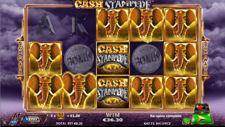 Cash Stampede de Nextgen dans les casinos en ligne de France-min