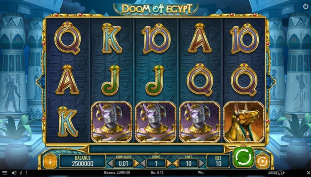 La machine a sous Doom of Egypt de Play 'N Go 2-min