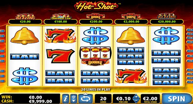La machine a sous Hot Shots de Isoftbet-min