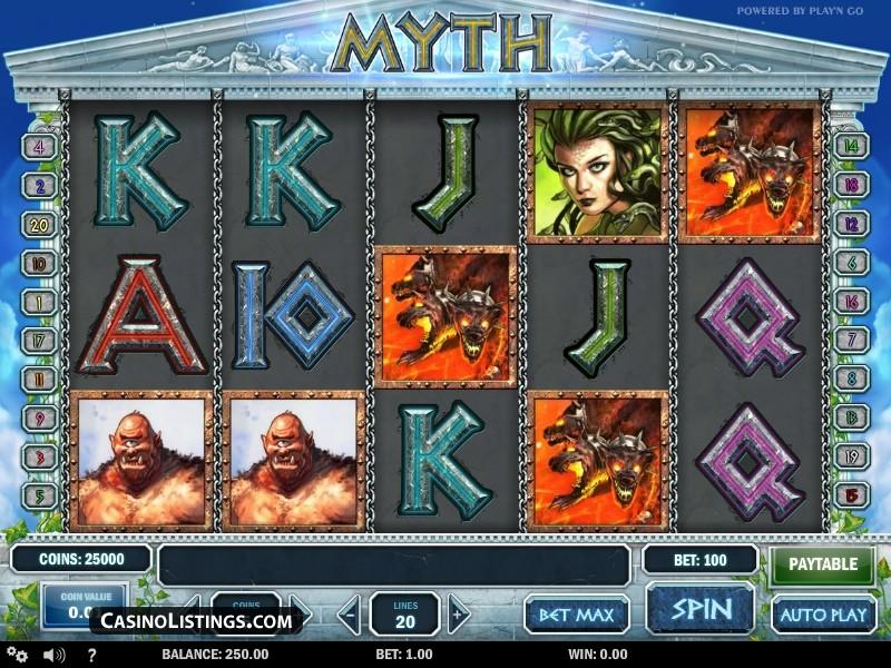 La machine a sous Myth de Play N Go-min