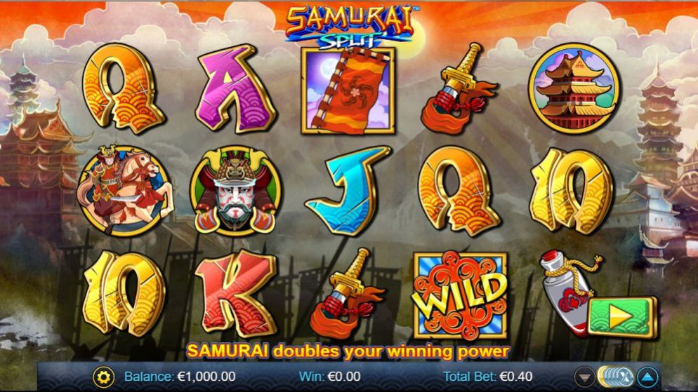 La machine a sous Samurai Split de Nextgen-min