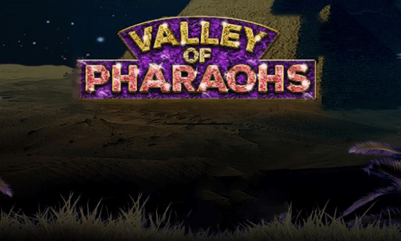 La machine a sous Valley of Pharaohs de Booming Games-min