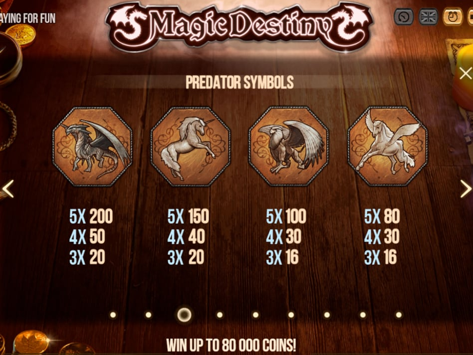 Machine a sous Magic Destiny-min
