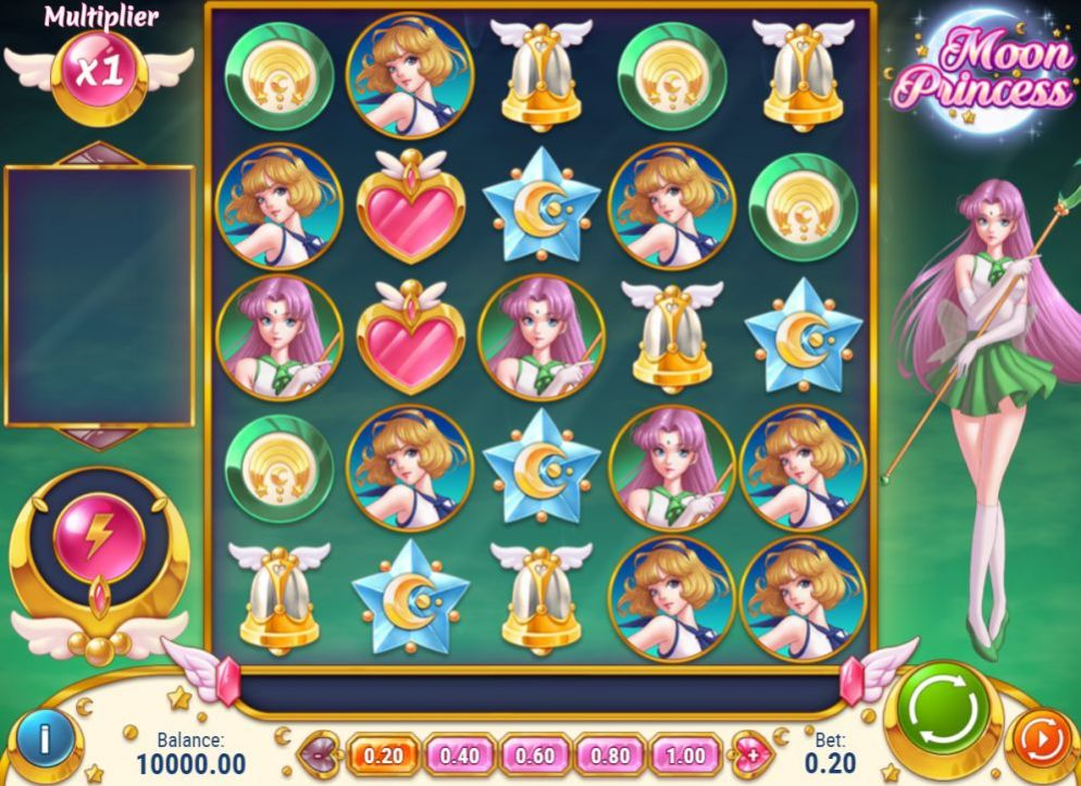 Moon Princess de Play 'N Go dans les casinos de France-min