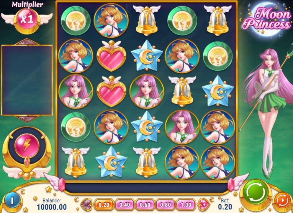 Moon Princess de Play 'N Go dans les casinos de France-min