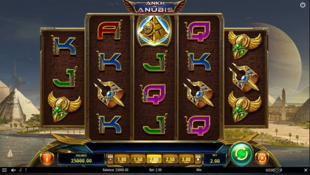 La machine a sous Ankh of Anubis de Play'n GO dans les casinos en ligne en France