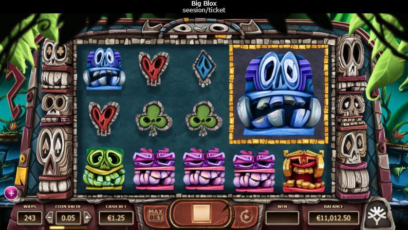La machine a sous Big Blox de Yggdrasil dans les meilleurs casinos de France
