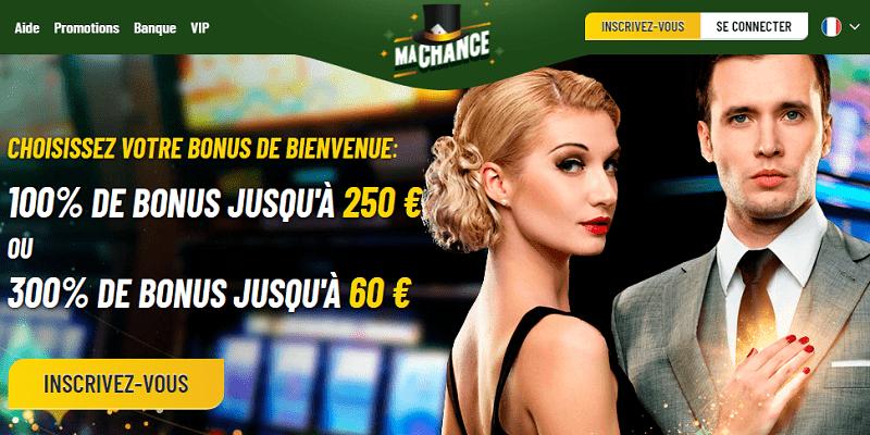 ma chance casino pour les français. meilleurs casino en ligne. volatilité des machines à sous. bonus de ma chance casino