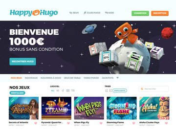 Casino Happy Hugo Avis, code bonus vip