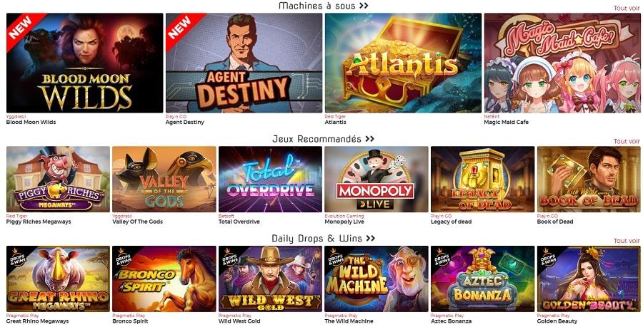 lucky 31 casino lucky31 machines a sous casino en direct avec croupiers