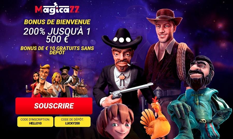 casino magicazz revue casino avec bonus sans exigence de mise. Casino Magicazz Bonus Gratuit Sans Dépôt
