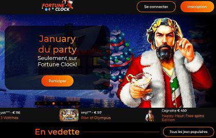 Casino Fortuneclock bonus gratuit sans depot