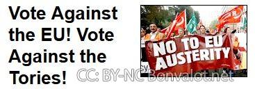 """Die linke """"Trade Union and Socialist Coalition"""" argumentierte für einen """"Lexit"""""""