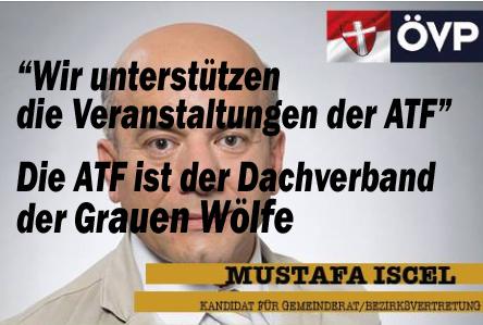 Die Verbindungen der ÖVP-Favoriten zu den Grauen Wölfen