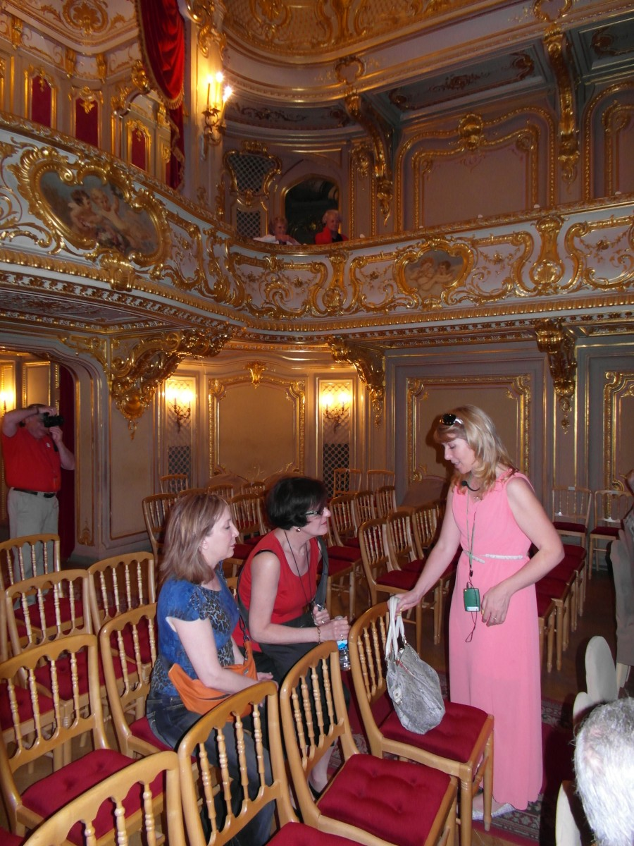 St. Petersburg, Russia ~ Rasputin and the theatre at Yusupov Palace