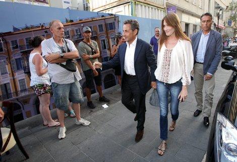 Sarkozy at La Petite Maison
