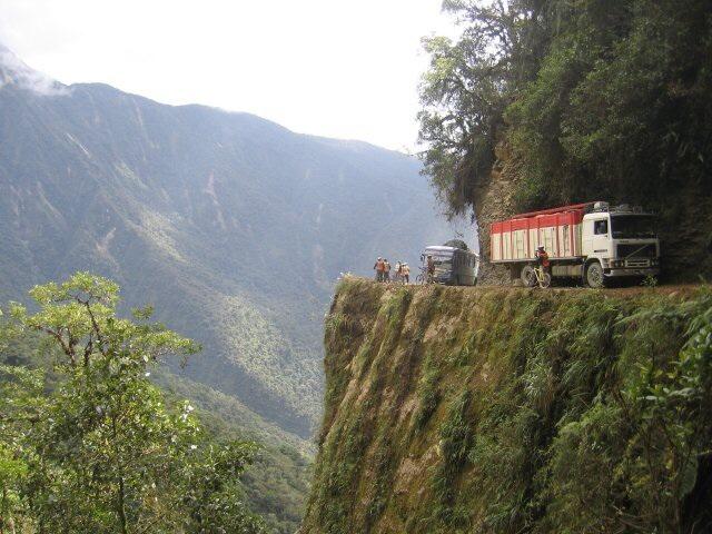"""Bolivia, and the """"Camino de la Muerte""""!"""